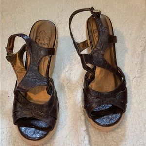 🎉5 for 15$ Black and brown wedges